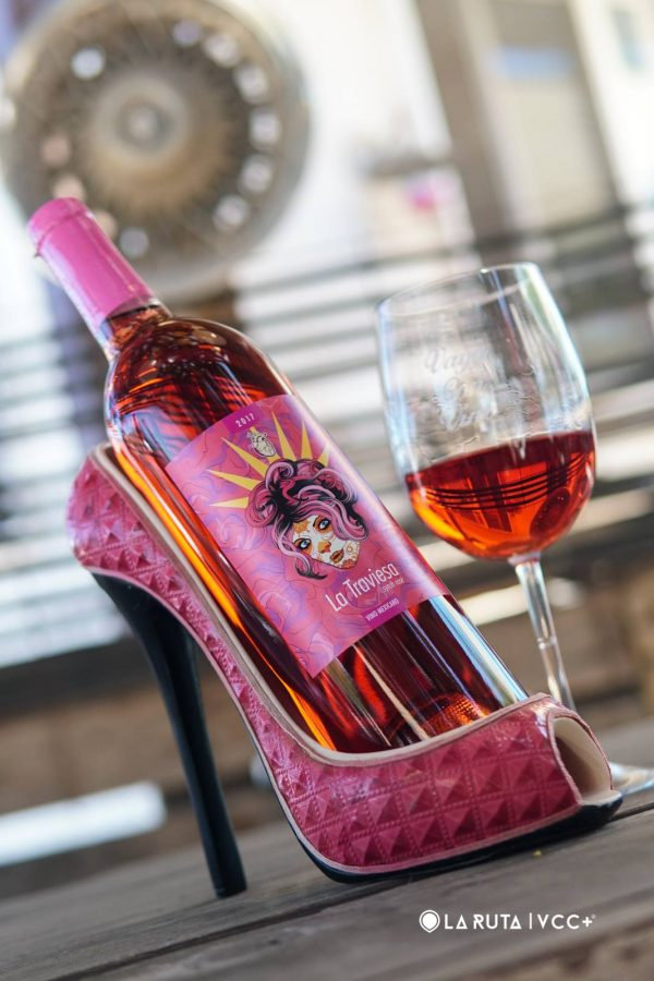 Syrah Rose poured | vallegirlvino.com